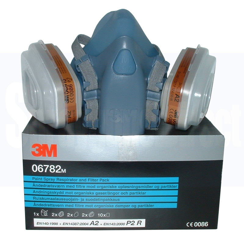 3M 06783 Paint Spray Respirator And Filter Pack