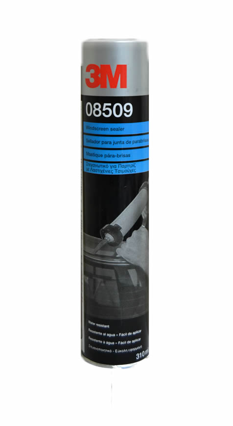 3M 08509 Windscreen Sealer Cartridge Black 310ML