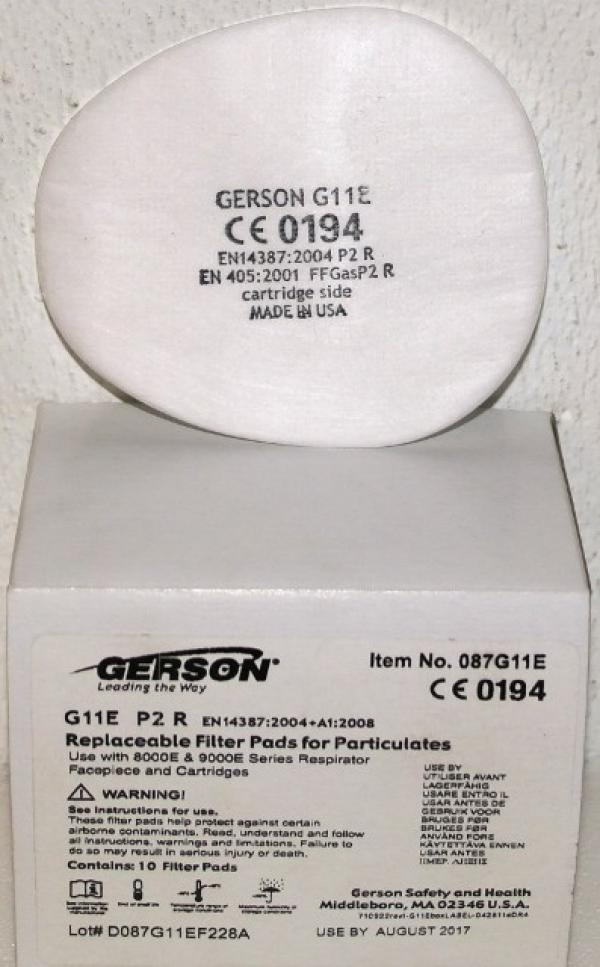 Pre-Filter For Gerson Mask PK10 087G11E
