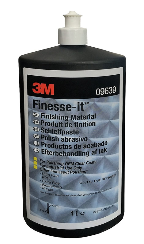 3M 09639 Finesse-it Finishing Material 1 Litre