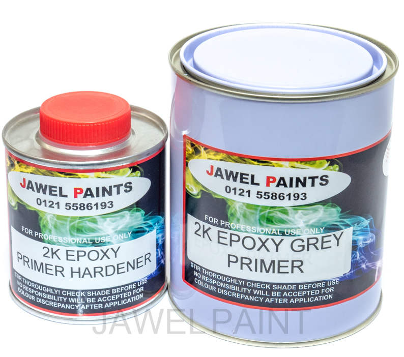 2 Pack Epoxy Grey Primer Kit 1.25Litre
