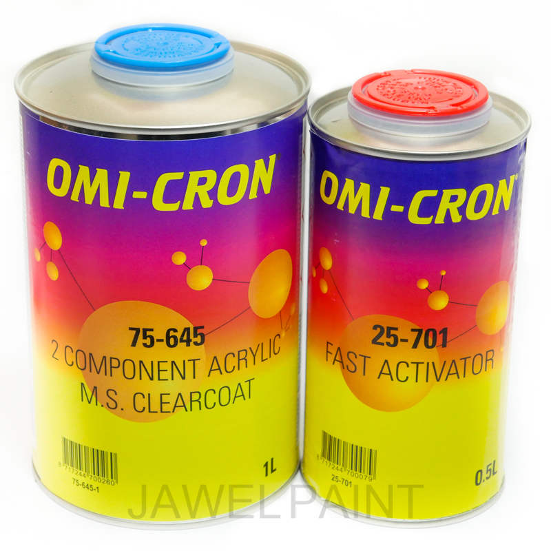 2K Acrylic Clear Lacquer Kit Omi-Cron 1.5 Litre