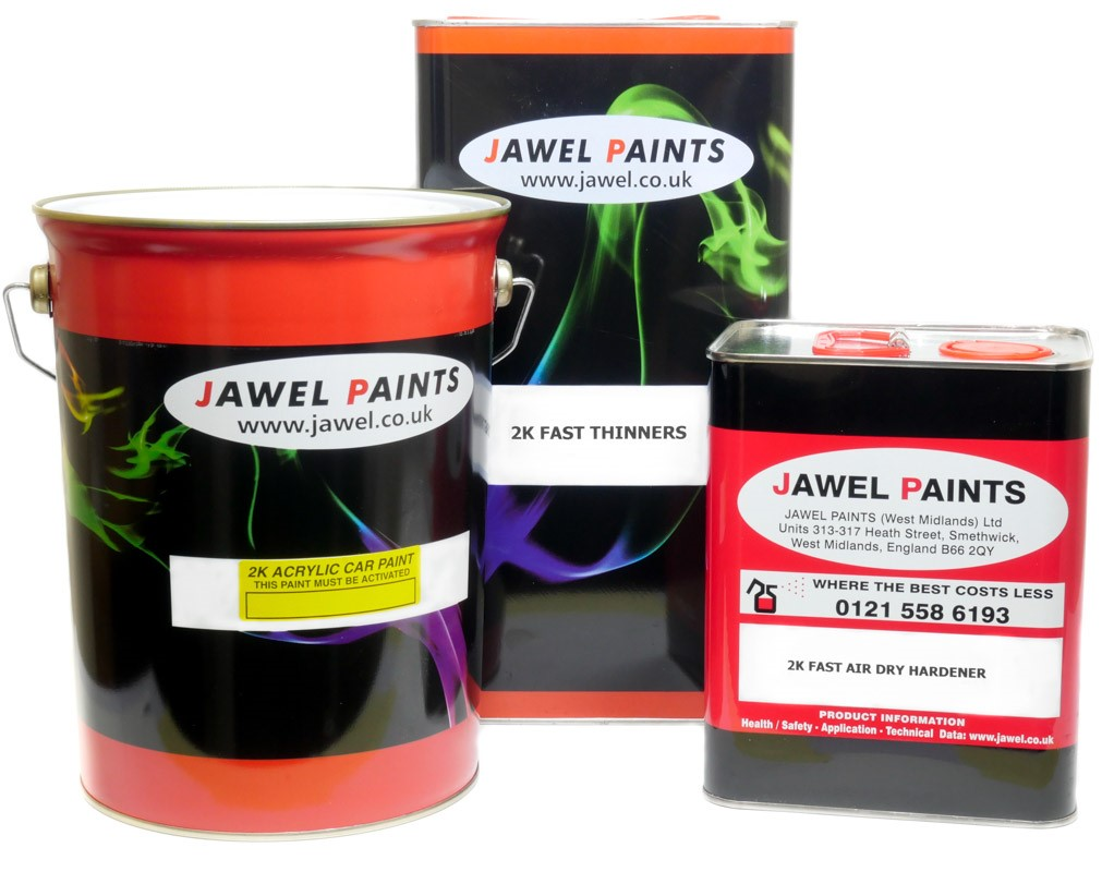 2K Acrylic Paint Bargain Kit 12.5 Litre