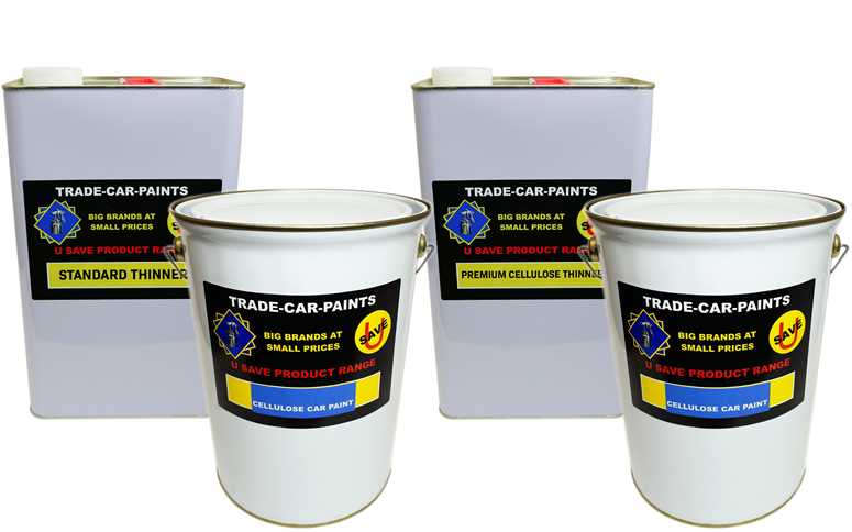 Cellulose Paint - Primer and Thinners 20ltr kit
