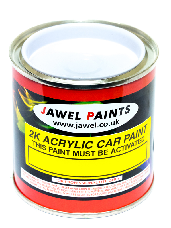 2K Acrylic Mixed Colour 1/4Litre (250ml)