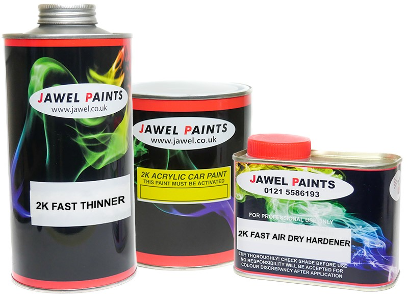 2K Acrylic Paint Bargain Kit 2.5 Litre