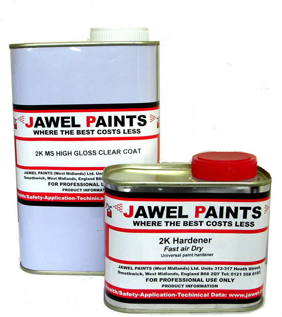 2K Acrylic Jawel HS Clear Lacquer Kit 1.5Litre