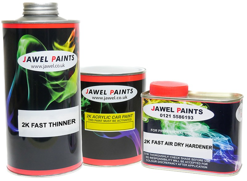 2K Acrylic Paint Bargain Kit 2 Litre