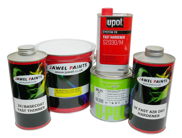 2K Acrylic Paint Bargain Kit 5.5Litre