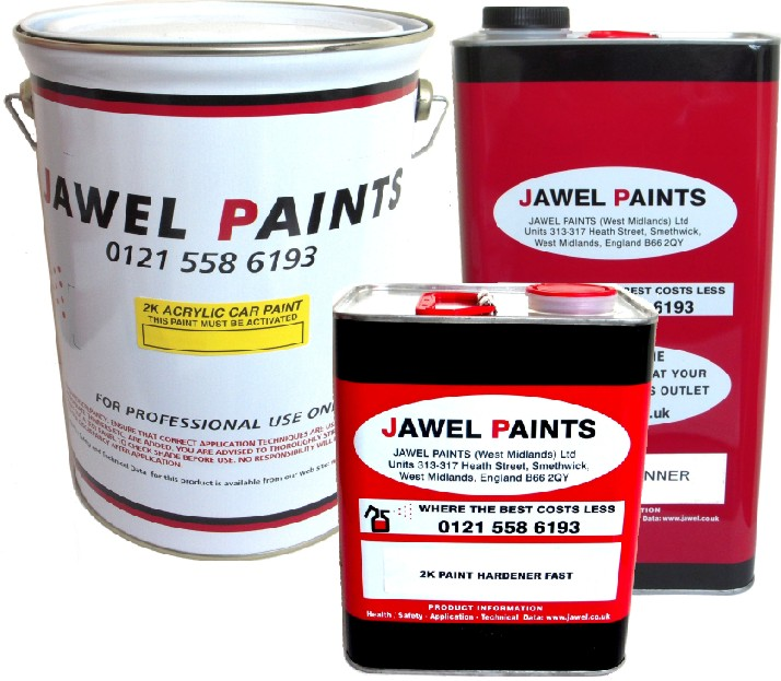 2K Acrylic Car Paint 12.5LTR Kit *Matt Finish* RAL or B.S Colour