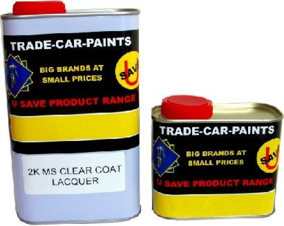 2K Acrylic High Gloss Lacquer Kit 1.5Litre