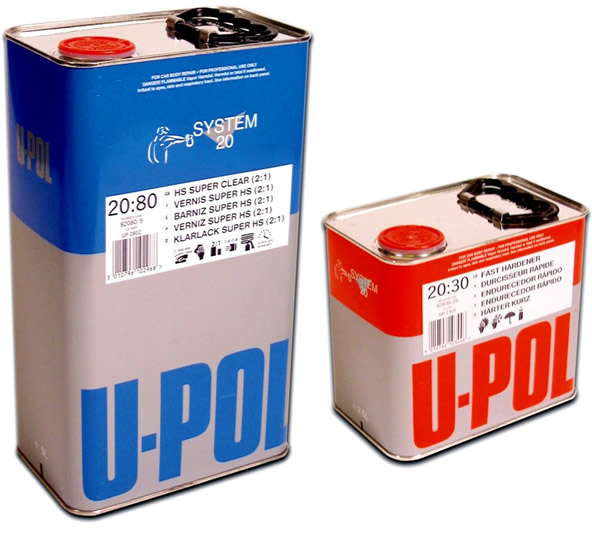 UPOL 2K HS Clear Lacquer 20:80 Kit 7.5Litre