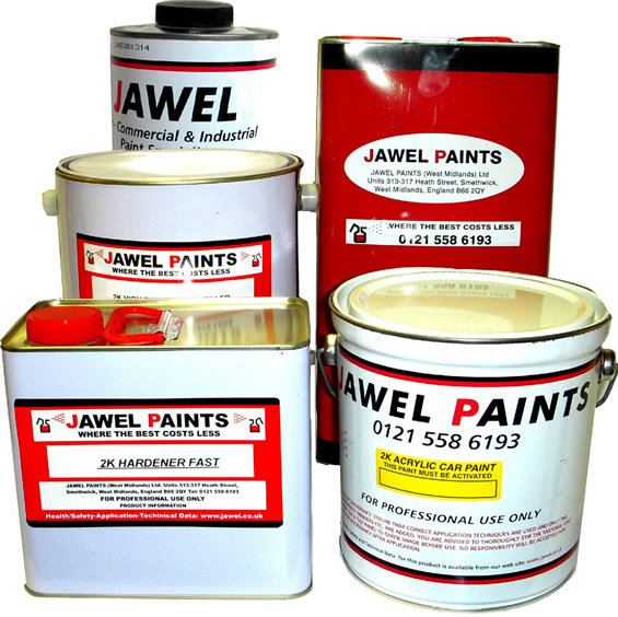 2K Acrylic Paint Bargain Kit 14 Litre