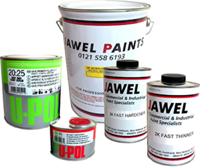 2K Acrylic Paint Bargain Kit 5.35 Litre