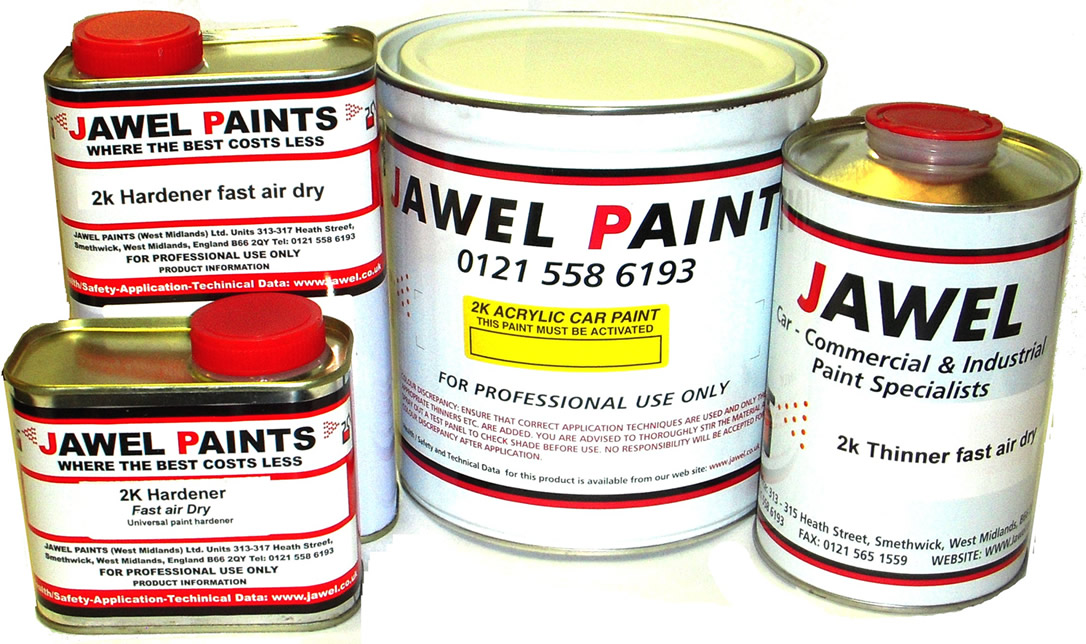 2K Acrylic Paint Bargain Kit 5Litre