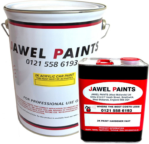 2K Acrylic Paint Bargain Kit 7.5 Litre