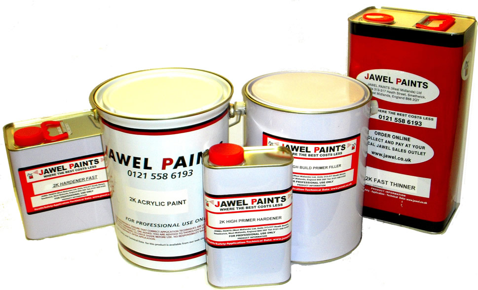 2K Acrylic Paint Bargain Kit 17.5 Litre