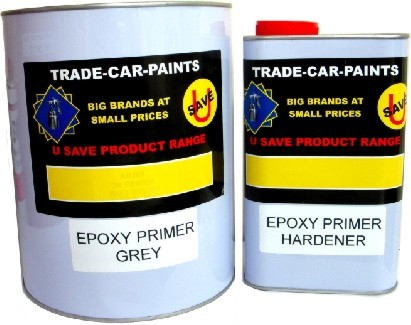 2 Pack Epoxy Primer Kit 4Litre