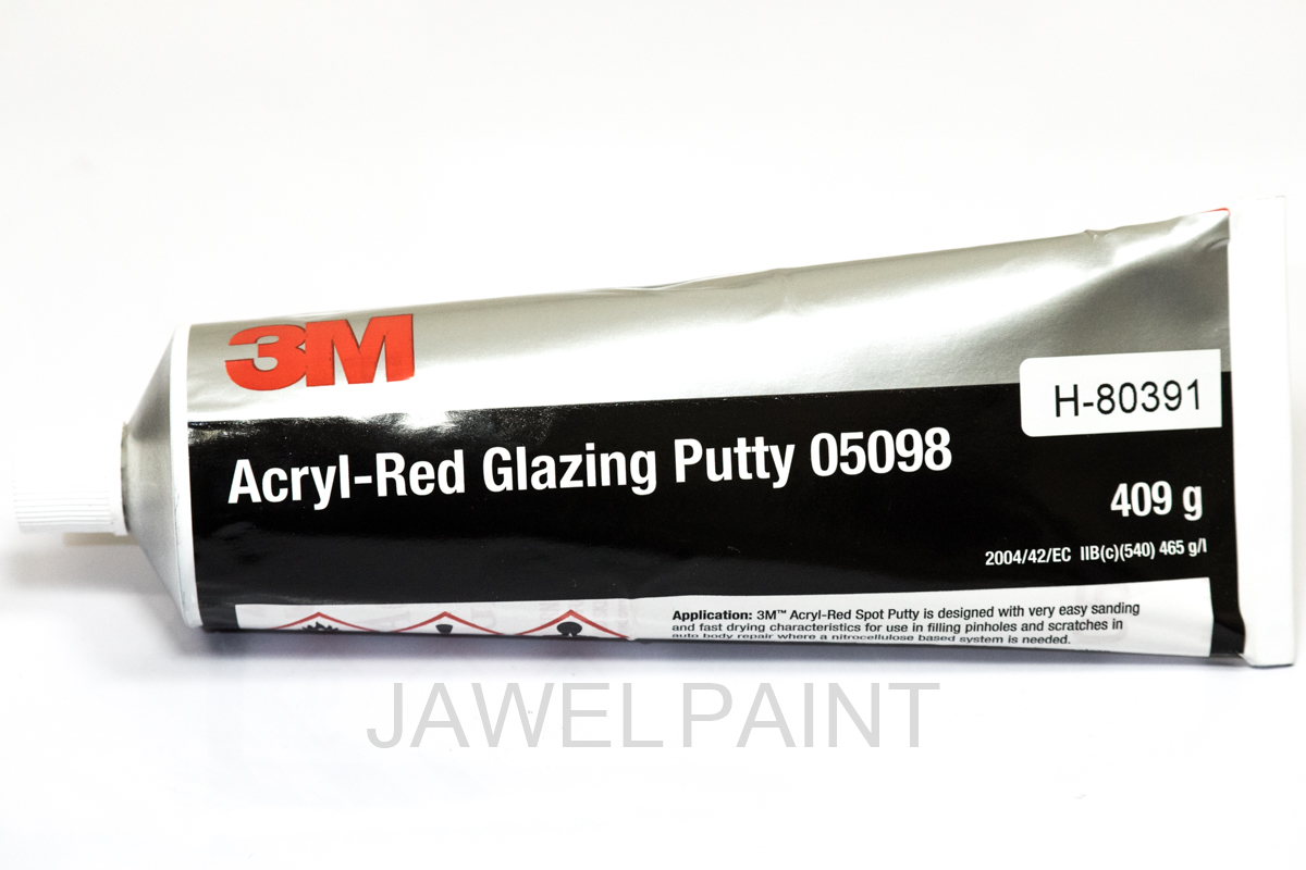 3M Acrylic -Red Glazing Putty 05098 409g