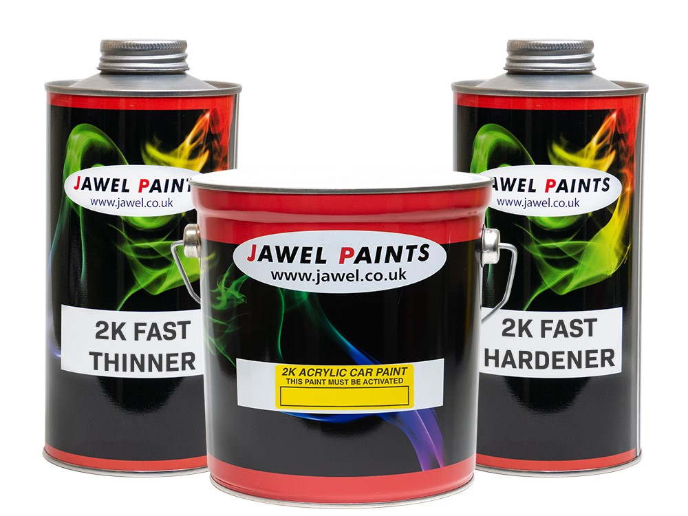 2K Acrylic Paint Bargain Kit 4 Litre