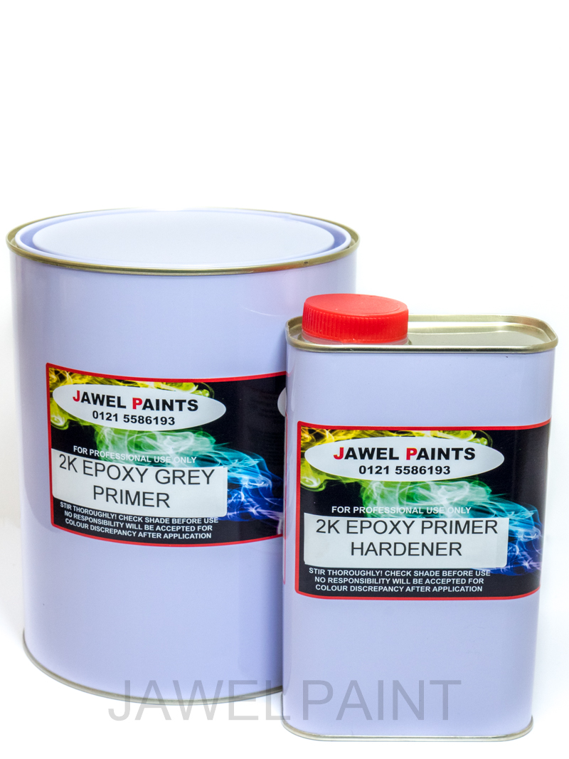 2 Pack Epoxy Grey Primer Kit 4Litre