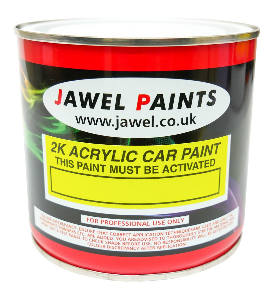2K Acrylic Mixed Colour 1/2Litre (500ml)
