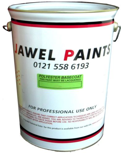 Polyester Basecoat Mixed Colour 5 Litre
