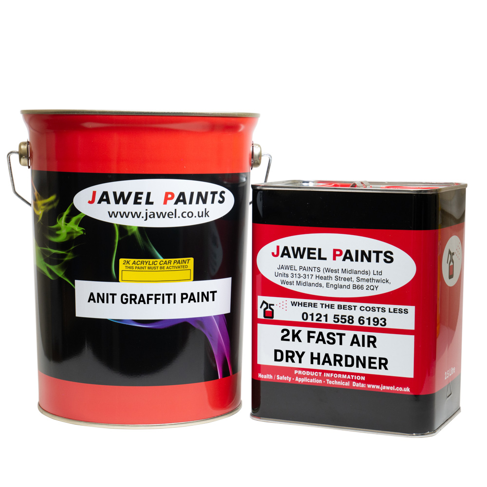 2K Acrylic ANTI-GRAFFITI Paint 7.5Litre Kit