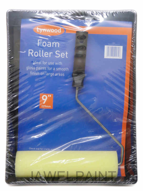 Paint Roller Set Foam 9""