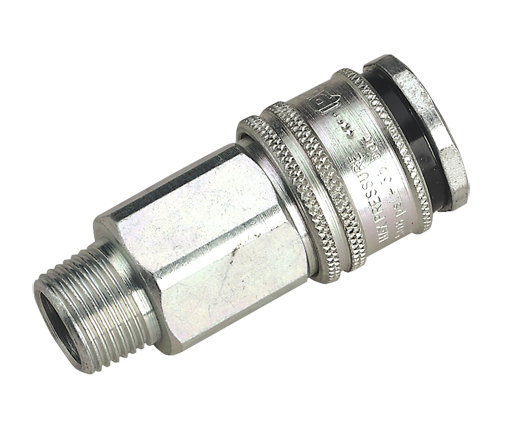 "PCL Male Quick Release Hi-Flow 3/8"" BSP AC32"