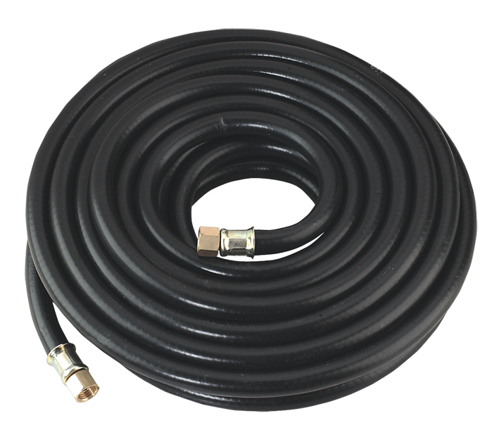 Air Hose 10 Metre Fitted With 1/4 BSP Female