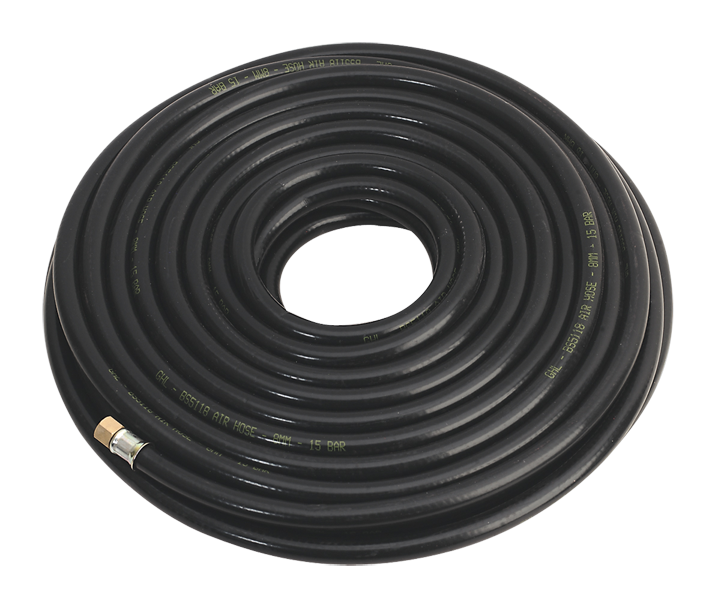 Air Hose 20 Metre Fitted With 1/4 BSP Female