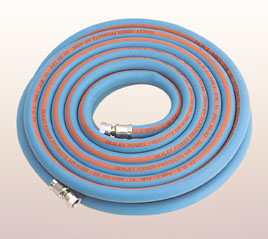 "Air Hose 10m x 3/8"" Hose (1/4 Conns)"
