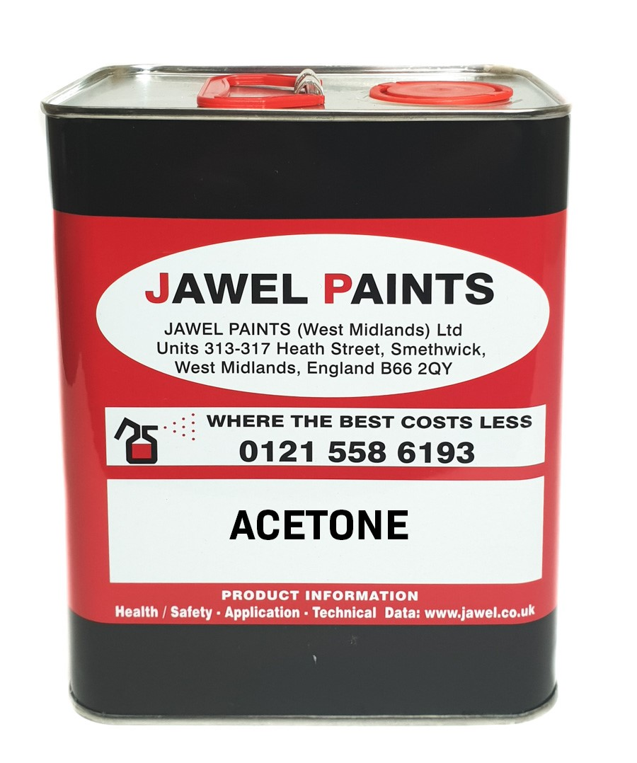 Acetone Cleaning Solvent 2.5Litre