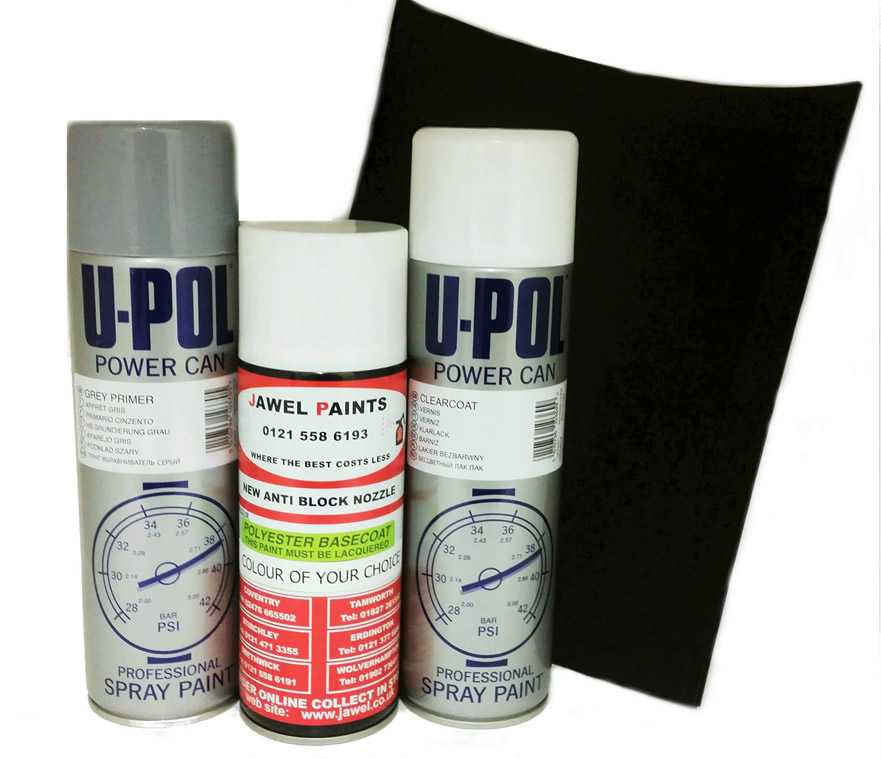 Aerosol Touch Up Paint Kit With Primer & Lacquer