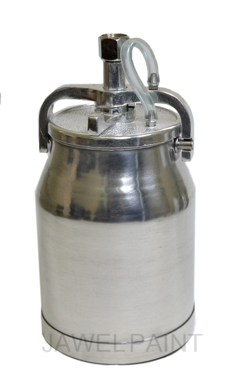 Aluminium Paint Cup For Suction/Syphon Feed Guns 1Litre