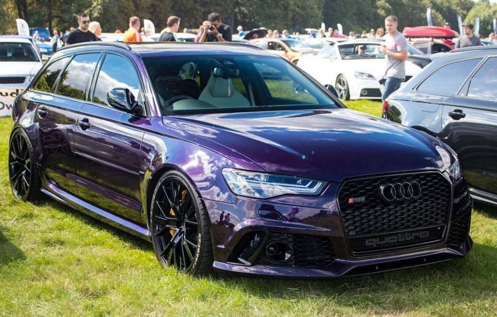 Audi Merlin Purple Pearl Paint Kit Solvent Basecoat