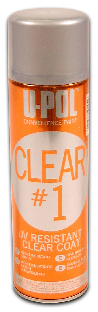 U-POL Clear 1 Smart Clear Aerosol 450ml