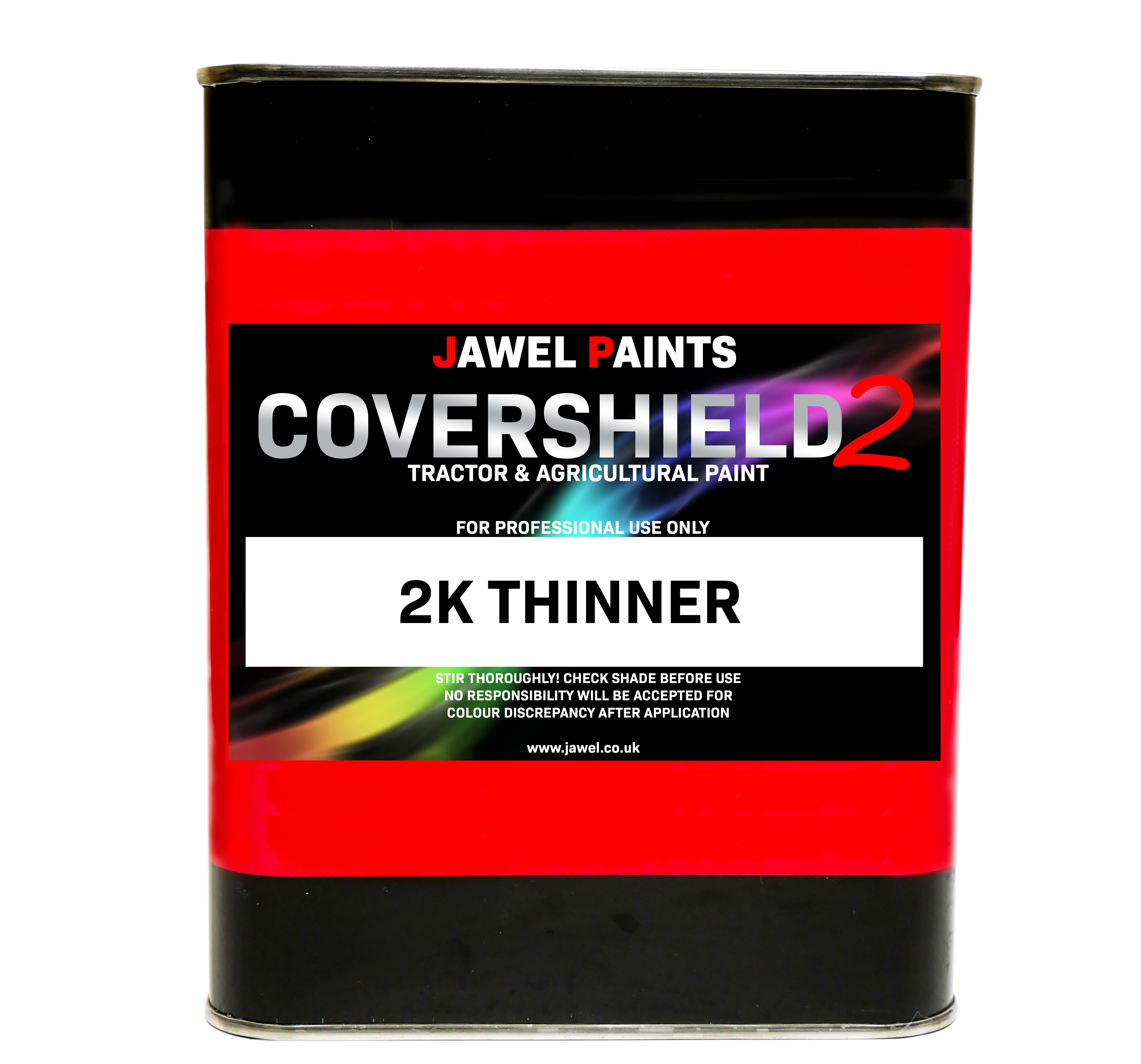2K Covershield2 Thinners 2.5Litre