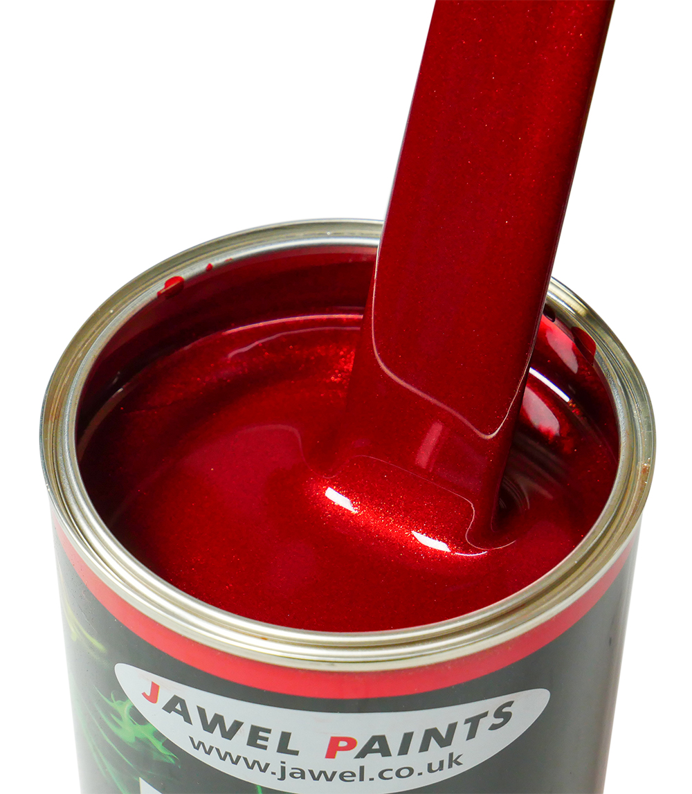 Polyester Basecoat Candy Ruby Red 1Litre
