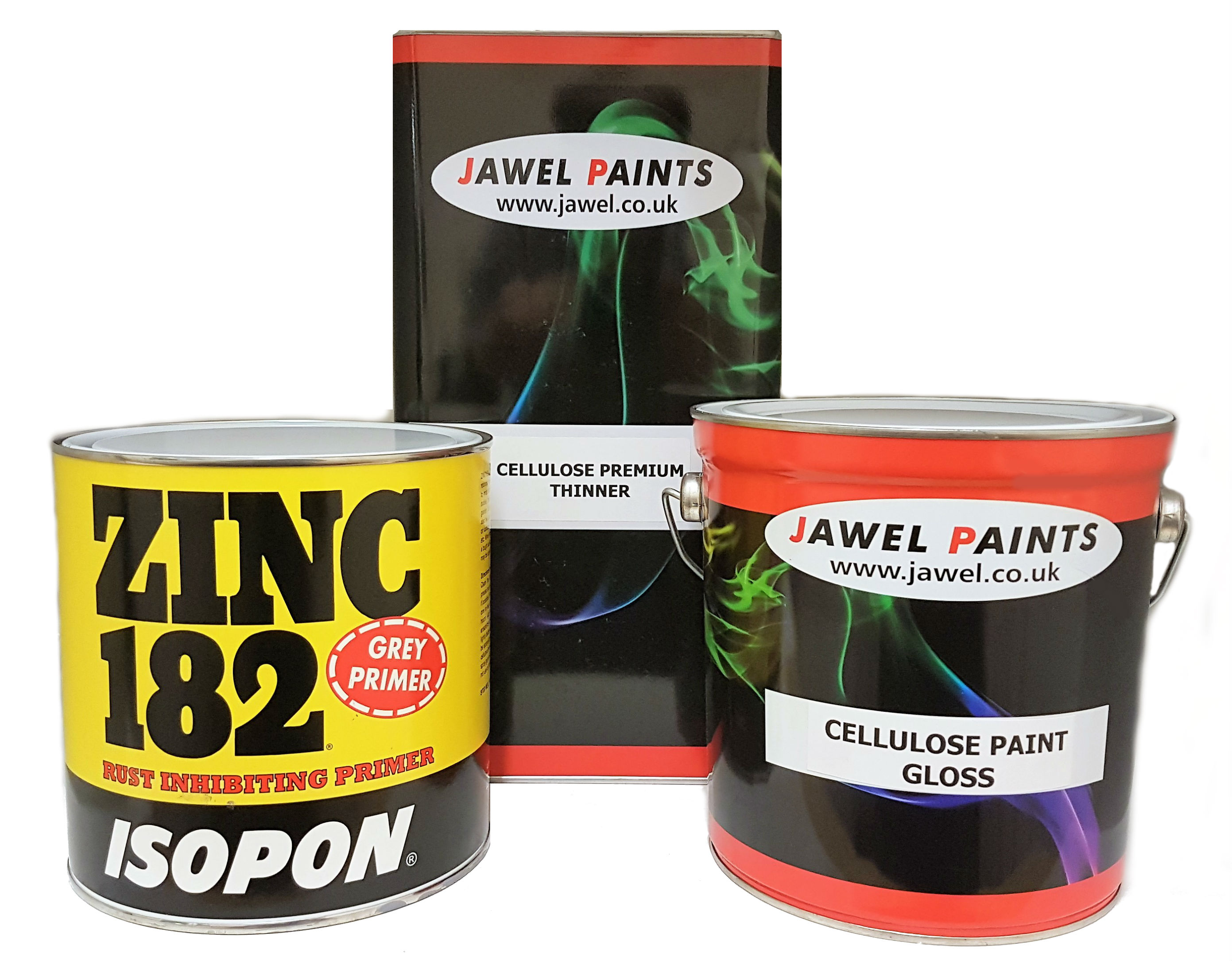 Cellulose Paint Bargain Kit (A) 10Litre