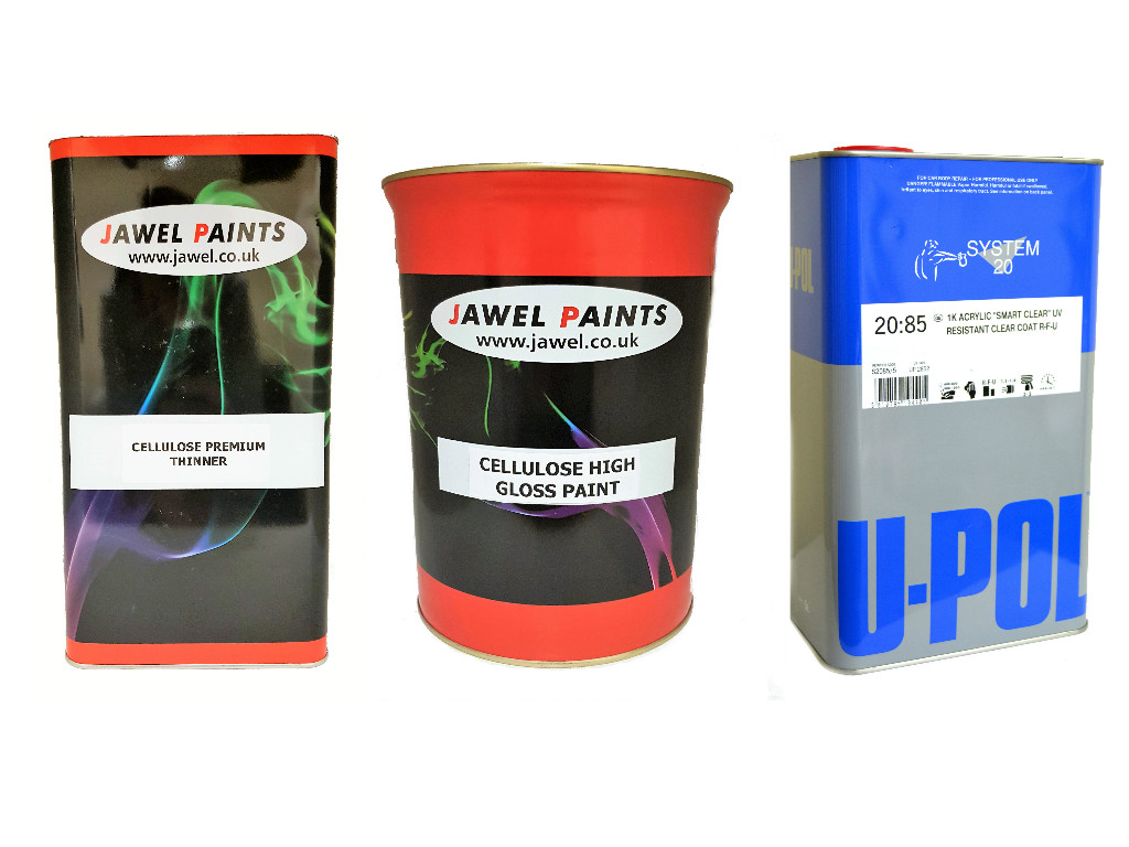 Cellulose Paint Bargain Kit (A) 15Litre