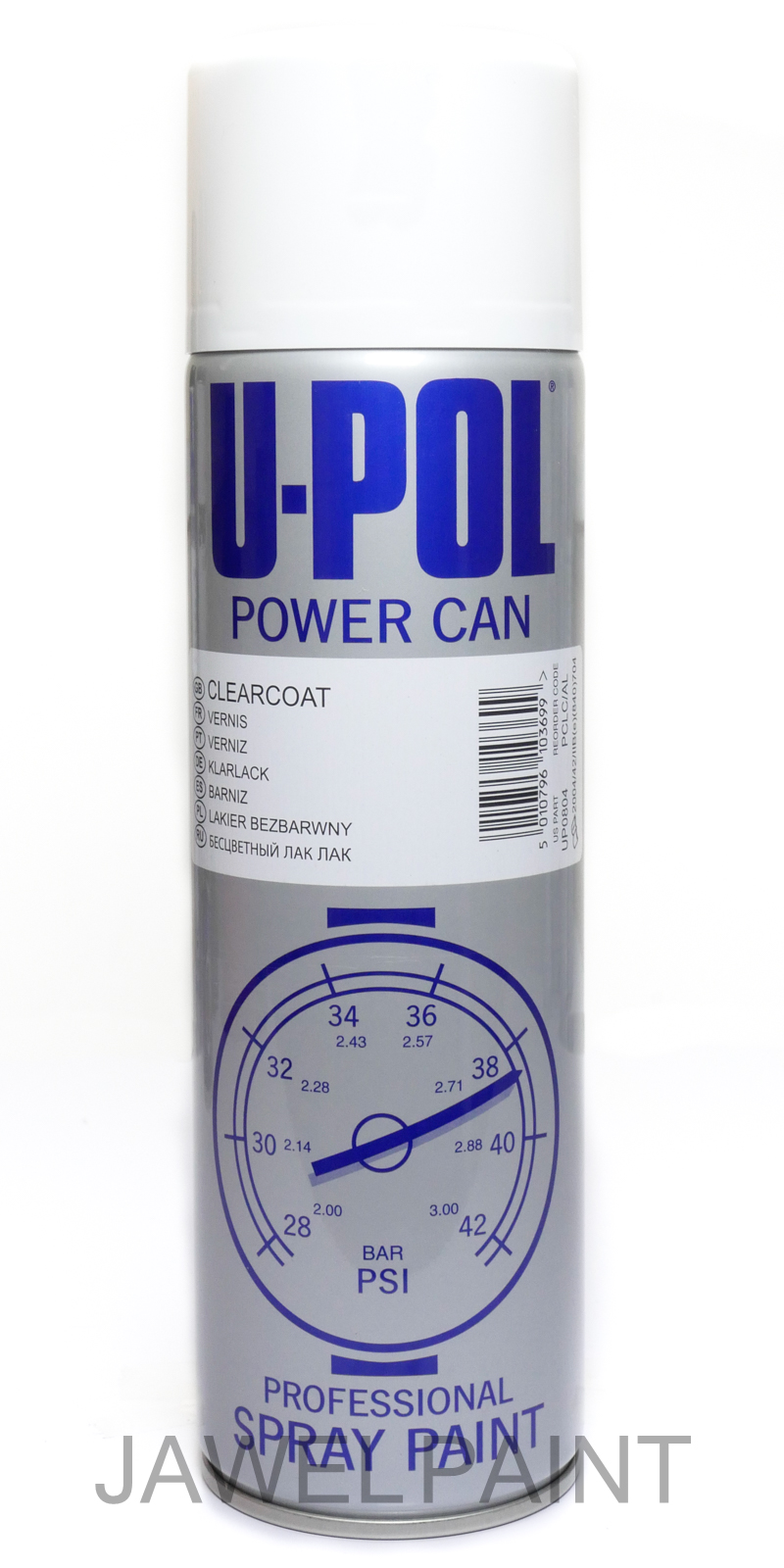 Power Can Clear Lacquer Aerosol 500ML