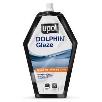 UPOL Dolphin Glaze Brush Polyester Stopper 440ML