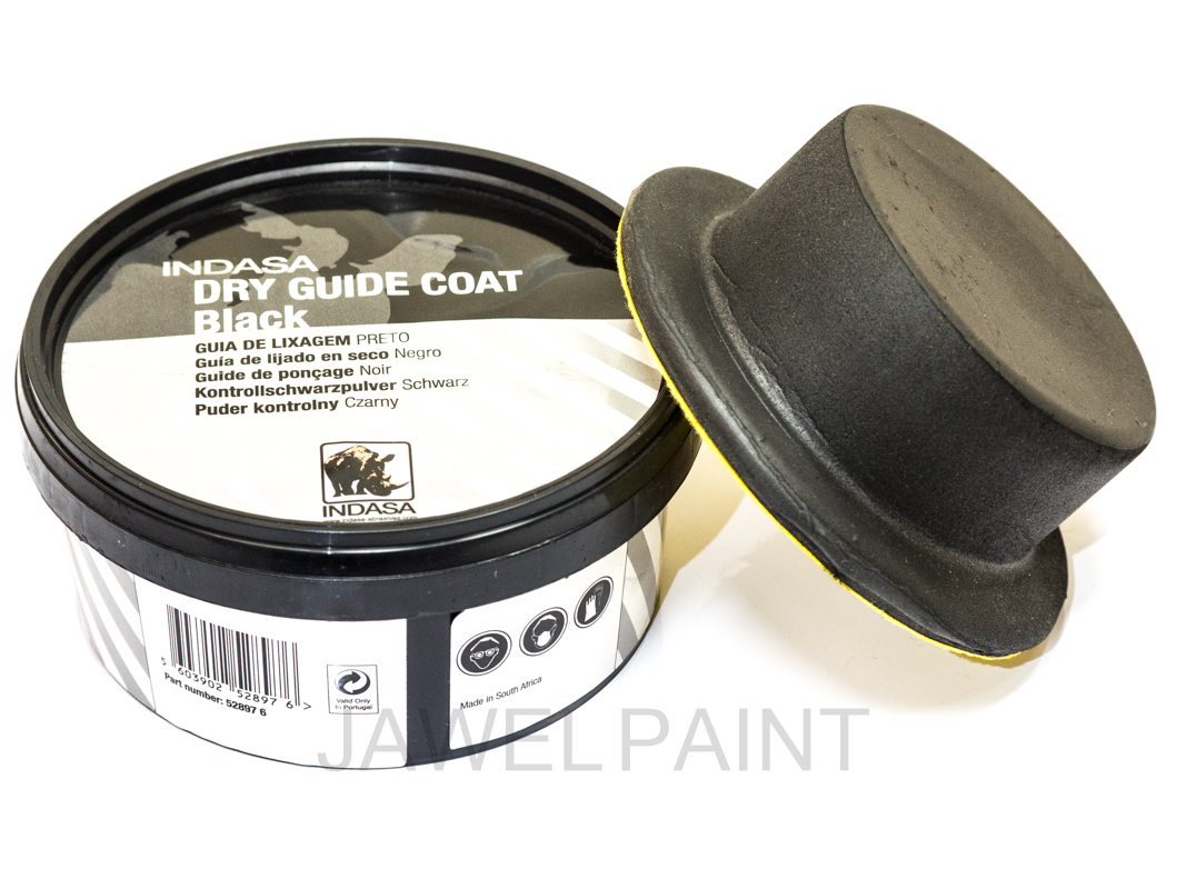 Indasa Dry Guide Coat Black 100g With Applicator