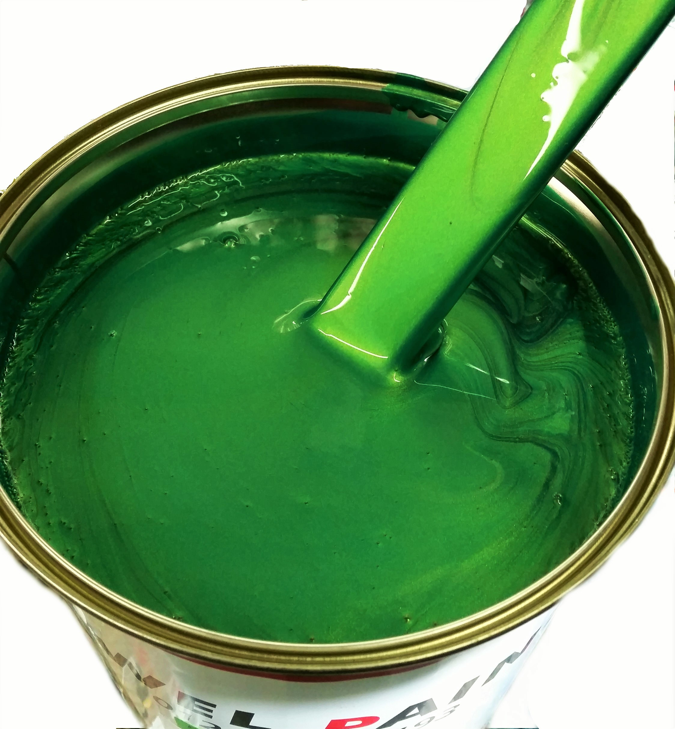 Polyester Basecoat Emerald Green Pearl