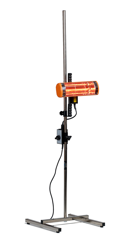 Infrared Heater 1Kw With Stand & Timer 240v Paint Dryer