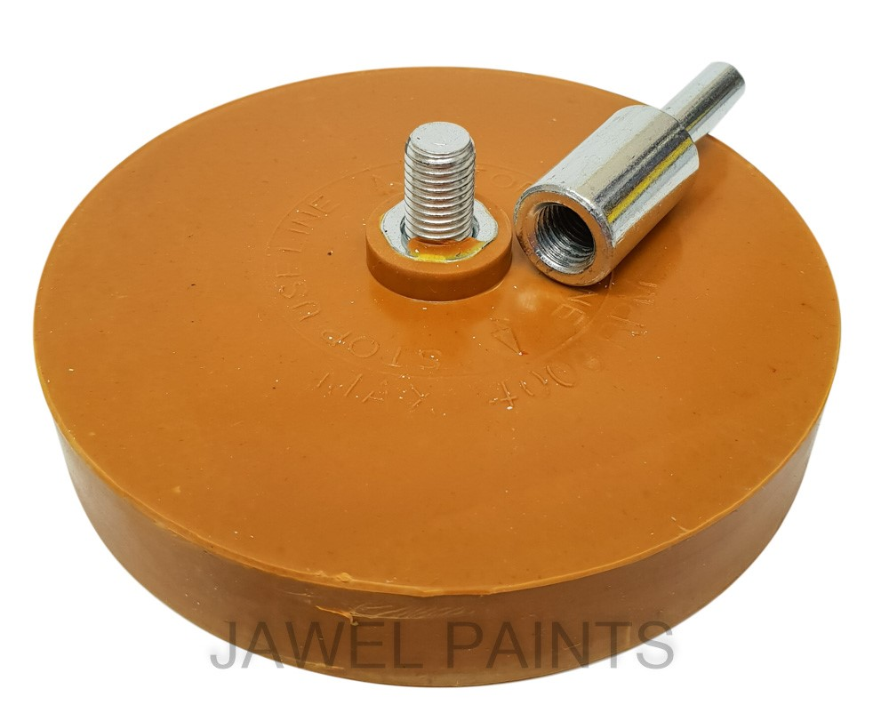 Rubber Eraser Wheel FMT5009 Caramel Wheel For Drill