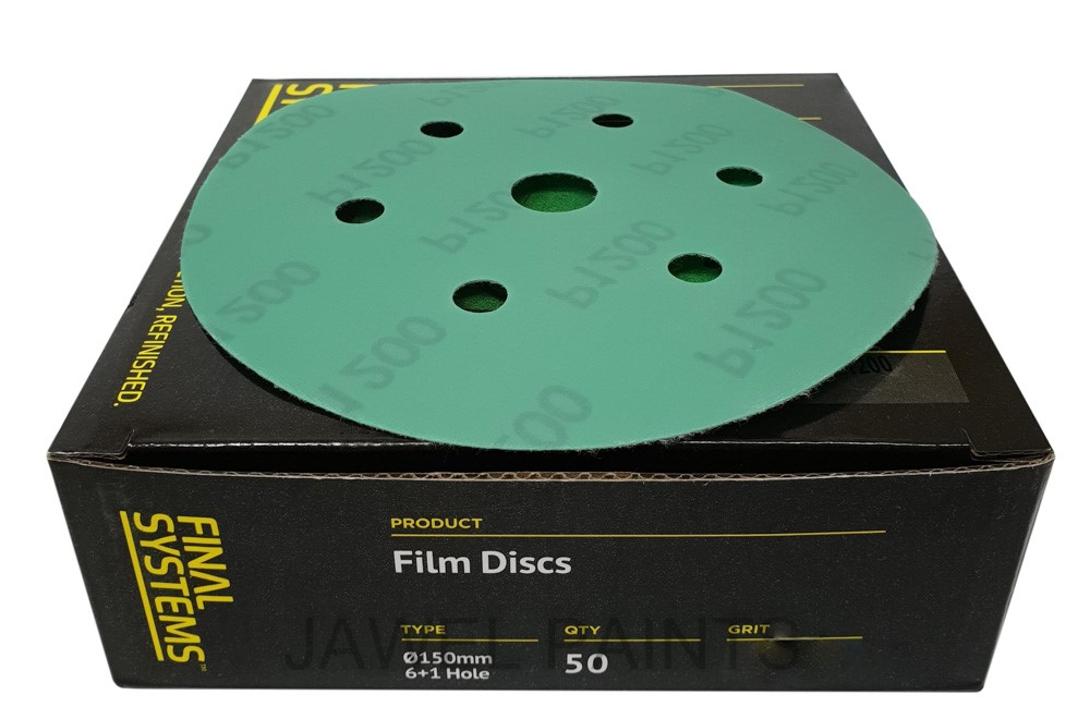"Film Disc's Velcro 6"" PK50 7 Hole"