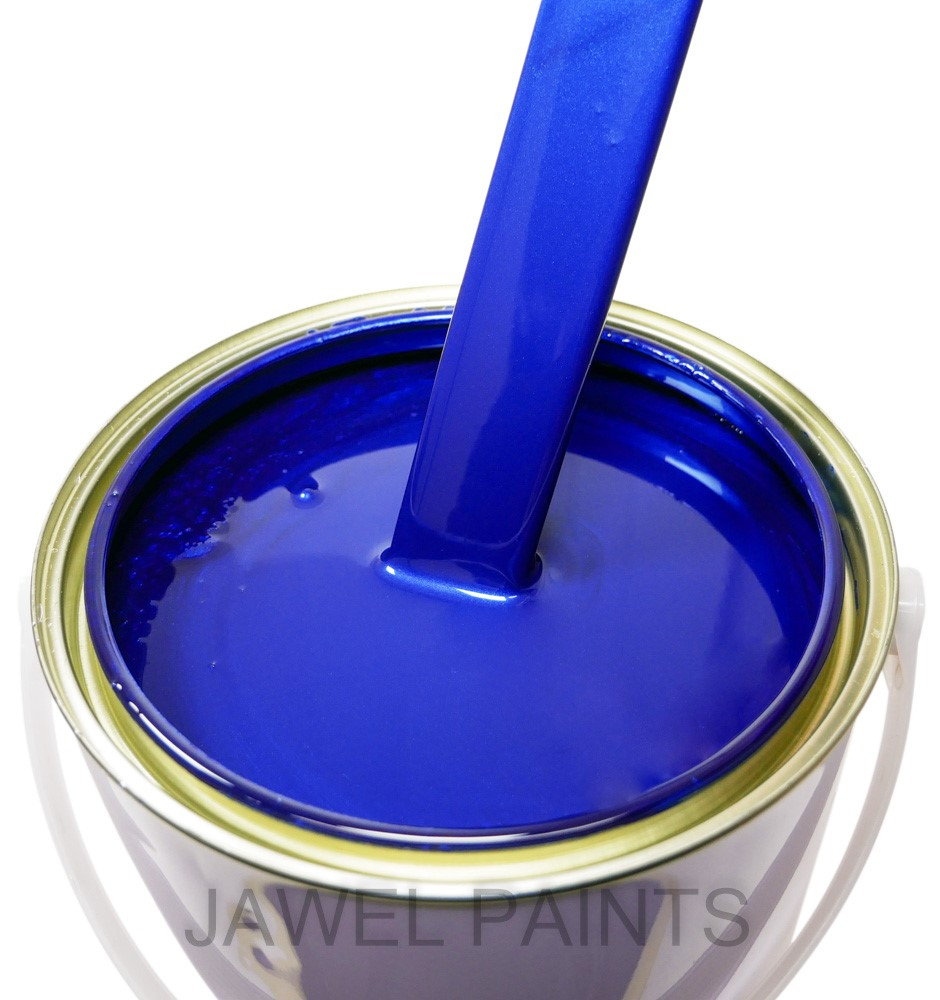 Polyester Basecoat Ford Spirit Blue Pearl